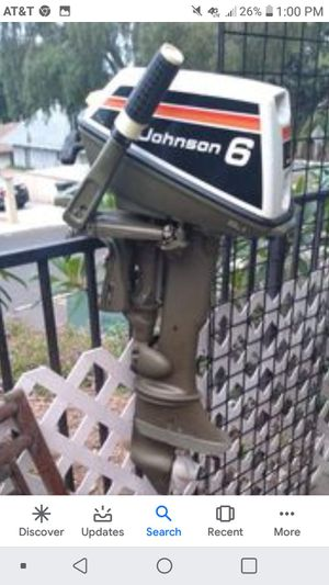 6 horse Johnson outboard for Sale in Henderson, KY