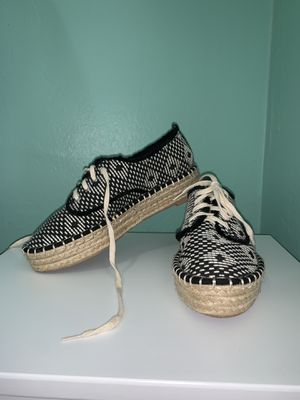 Spadrilles size 7 worn once like new for Sale in Miami, FL