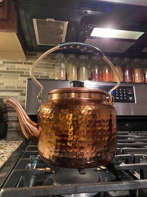 Copper Tea Pot for Sale in Brentwood, MO