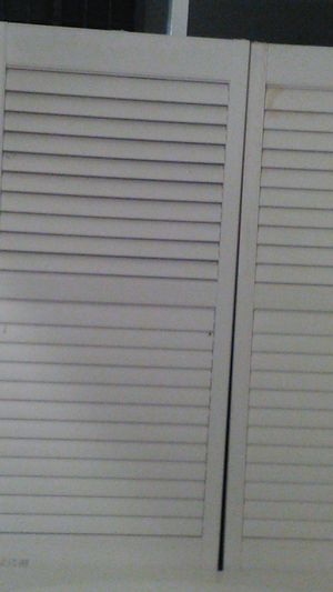 Free shutters for Sale in Oceanside, CA