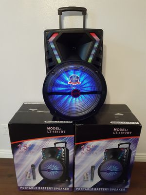 SPEAKER BLUETOOTH WIRELLES $100. NEW for Sale in Bloomington, CA