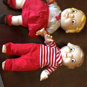 Campbells Soup Dolls-Vintage 70's for Sale in Bethel Park, PA