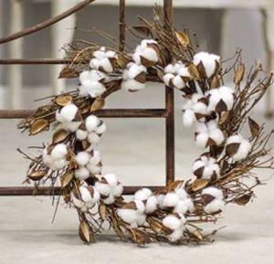 Cotton wreath for Sale in Hemet, CA