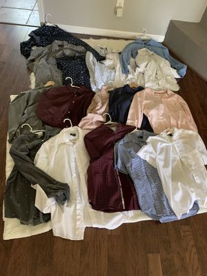 Clothing and sneakers for Sale in Stafford, TX