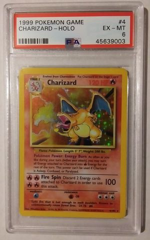 1999 Pokemon Game Charizard -Holo for Sale in Brookfield, IL