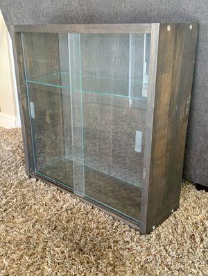 Antique glass hanging cabinet for Sale in Redlands, CA