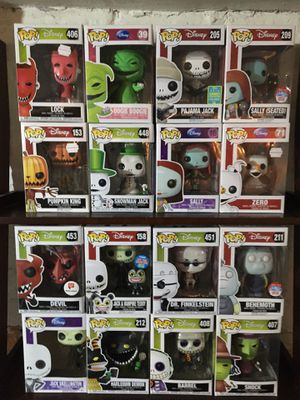 Funko Pop Nightmare before Christmas set for Sale in Chicago, IL
