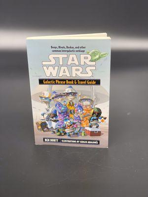 Star Wars: Galactic Phrase Book & Travel Guide - Ben Burtt for Sale in Orange, TX
