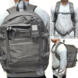 NEW! Large GREY camouflage tactical military style GRAY Backpack molle system hiking gym work camping travel bag for Sale in Carson, CA