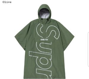 Supreme Gore-Tex poncho olive for Sale in Brentwood, TN