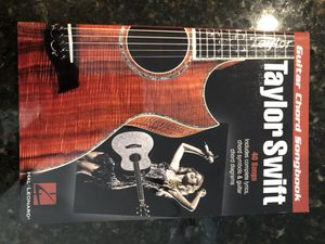 Taylor Swift Guitar Chord Songbook, Paperback by Swift, Taylor for Sale in Colleyville, TX