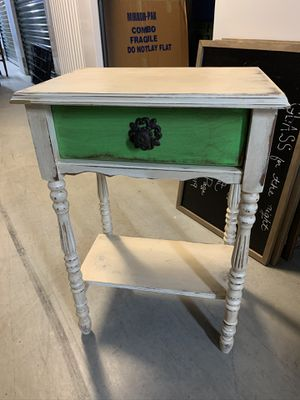 Shabby Chic Antique Style French End Table for Sale in Washington, DC