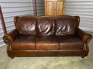 All Leather couch for Sale in Murfreesboro, TN