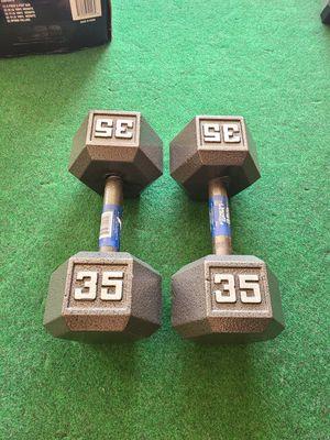 35lb Dumbells New for Sale in Garden Grove, CA