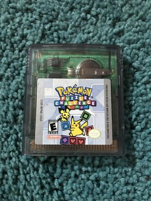 Pokemon Puzzle Challenge (Game Boy Color) for Sale in Trenton, NJ