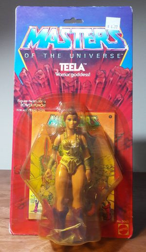 Teela Masters Of The Universe Vintage Action Figure 80s he-man toy for Sale in Marietta, GA