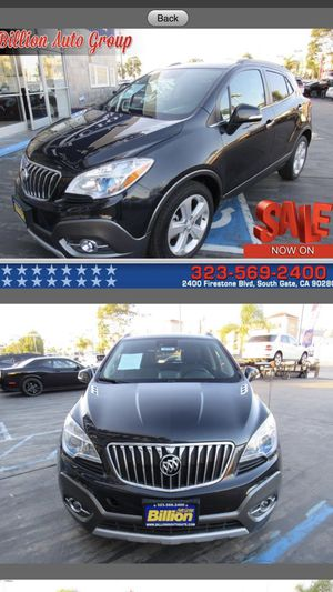 2015 Buick Encore Premium 4dr Crossover 28,219 miles for Sale in South Gate, CA