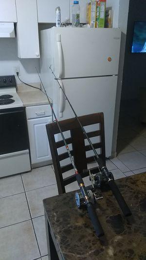 Fishing pole fishing reel for Sale in West Palm Beach, FL
