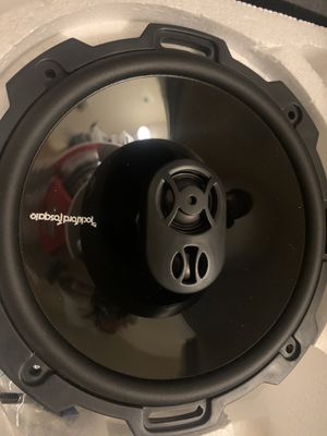Rockford fosgate speakers for Sale in Gilroy, CA