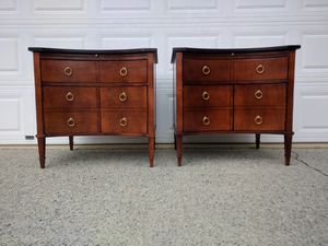 Hickory Chair Lancaster 2 side tables / nightstands for Sale in Duluth, GA