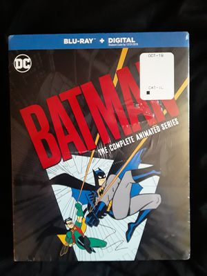 Batman the Animated Series complete series box set for Sale in Charleston, WV