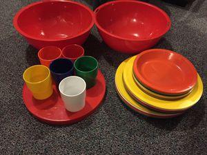 Ingrid set for 6 plastic picnic set for Sale in Ravenna, OH