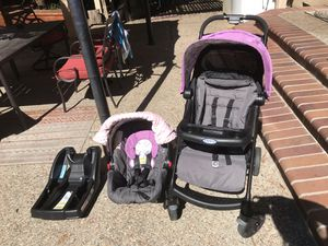 Graco snugride click connect 30 car seat & stroller for Sale in Morgan Hill, CA