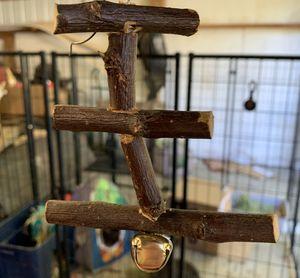 Organic edible wooden bunny rabbit toy treats for Sale in Lake Stevens, WA