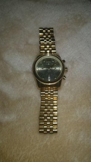 Michael Kors gold plated watch for Sale in Mill Creek, WA