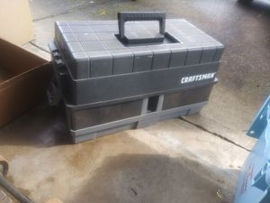 CRAFTSMAN TOOL BOX for Sale in Vancouver, WA