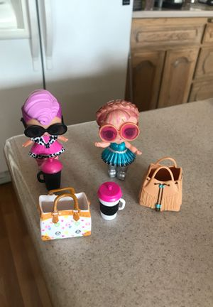 Lot of 2 LOL Dolls with accessories for Sale in Fountain Hills, AZ