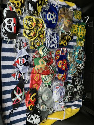 Mexican luchadores masks for Sale in Ontario, CA