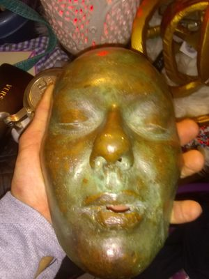 PLEASE HELP! WHAT IS THIS BRONZE MASK? for Sale in Federal Way, WA