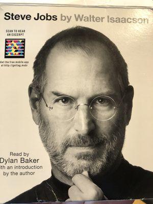 Steve Jobs Audio Book for Sale in Sammamish, WA