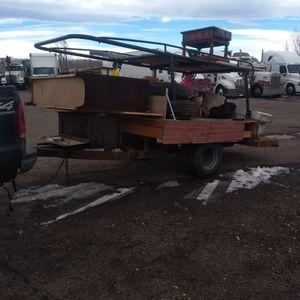 Dually axle homemade trailer for Sale in Brighton, CO