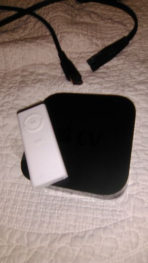 Apple TV a1469 3rd gen with remote HDMI and power cables for Sale in Denver, CO