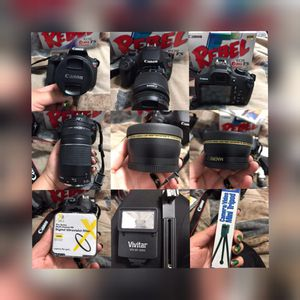 Canon EOS Rebel T5 Bundle for Sale in Norwalk, CA