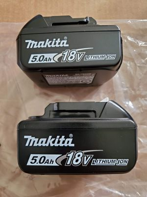 MAKITA 18V LXT LITHIUM ION 5.0AH BATTERIES (2) for $99 for Sale in Los Angeles, CA