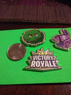 Fortnite Enamel Pins - PAX Exclusive for Sale in Marysville,  WA