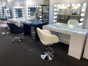 Makeup vanity 💄💄💄💡💡💡💄💄💄 for Sale in TX, US
