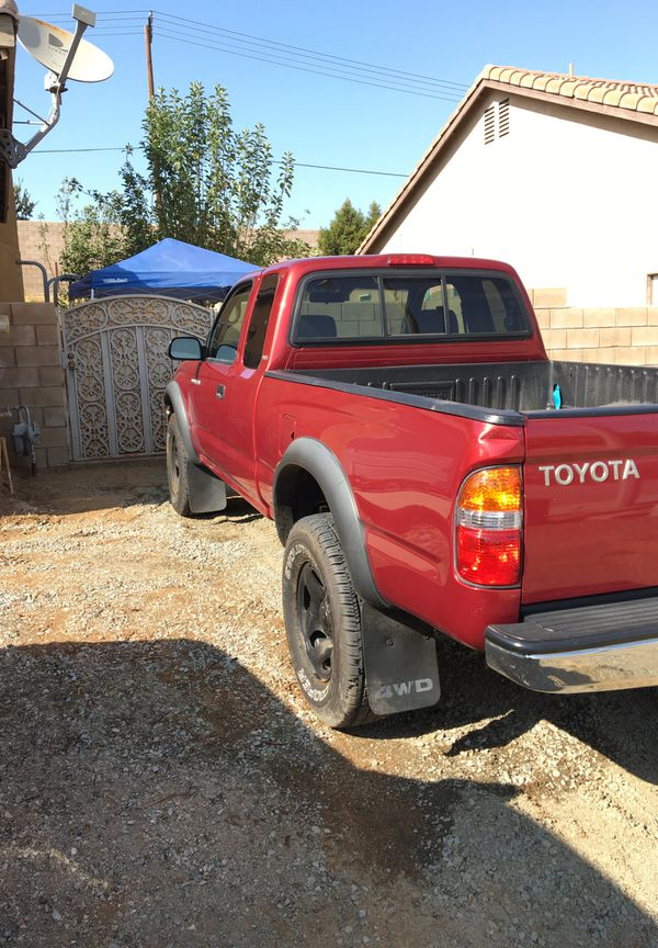 Toyota Tacoma 4wd 5speed Manual 4x4 Low Miles For Sale Manual Guide