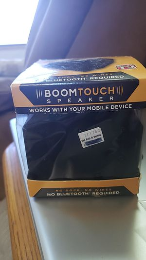 Boomtouch Speaker for Sale in Tinley Park, IL
