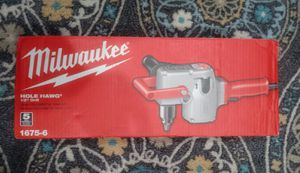Milwaukee 7.5 Amp 1/2 in. Hole Hawg Heavy-Duty Corded Drill... Nuevo precio firme... for Sale in Los Angeles, CA