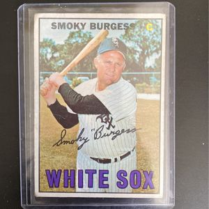 1966 Smoky Burgess Baseball Card for Sale in Pompano Beach, FL