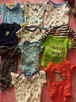 Baby onesies / Newborn and 3-6 months for Sale in Philadelphia, PA