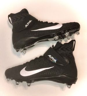 New Nike Alpha Menace Elite 2 football Cleats Mens US Flyknit for Sale in Zachary, LA