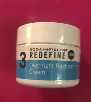 Rodan+Fields Redefine overnight restorative cream for Sale in Port Huron, MI