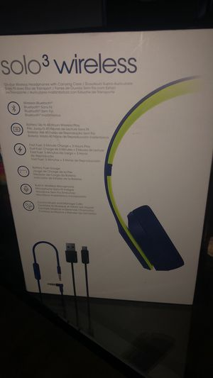 Beats solo 3 wireless for Sale in Palatine, IL