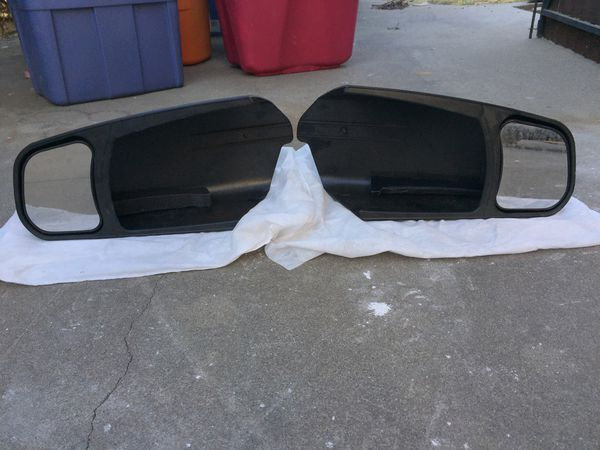 TRAVEL TRAILER EXTENSION MIRRORS