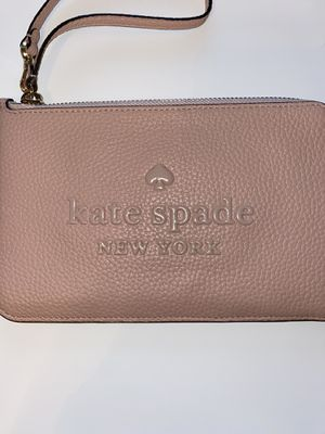 Kate Spade L-Zip Wrislet (NWT) Pink for Sale in San Antonio, TX